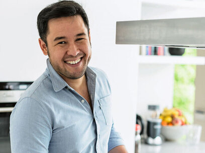 James Wong's store cupboard suppers for healthy nutrition