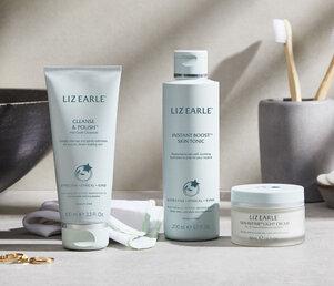 Cleanse, tone, moisturise