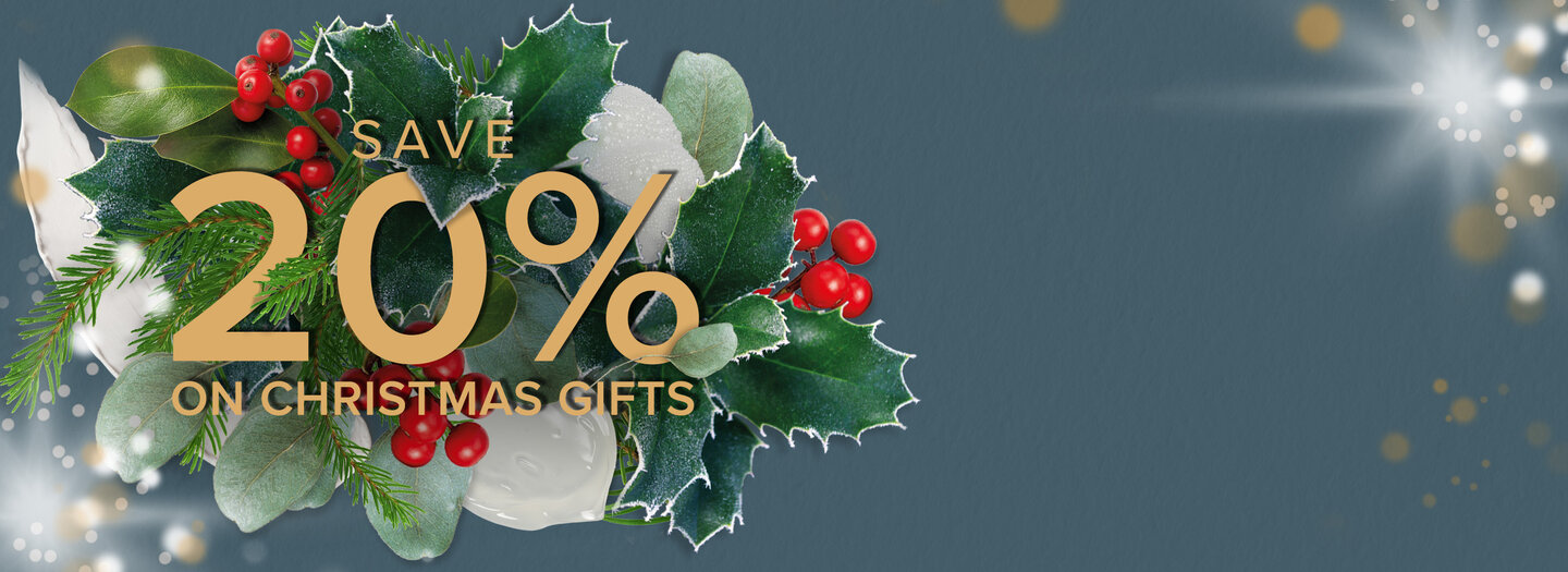 20% OFF CHRISTMAS GIFTS