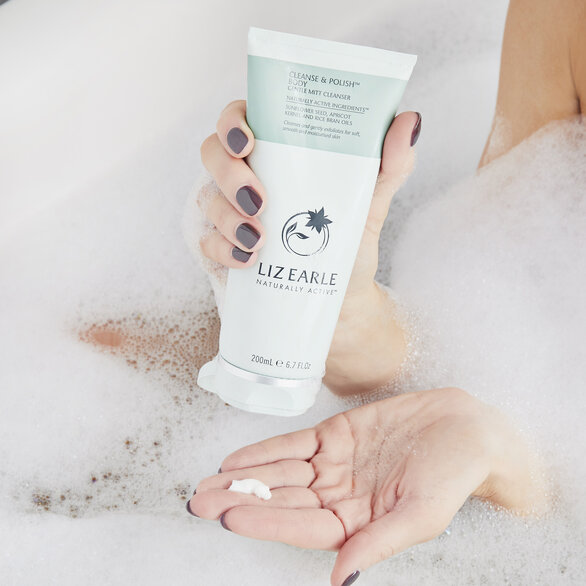 Cleanse & Polish™ Body Gentle Mitt Cleanser  large