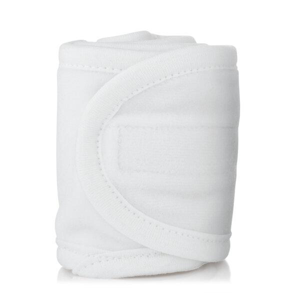 Soft white headband  large
