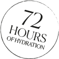 72 hours hydration badge